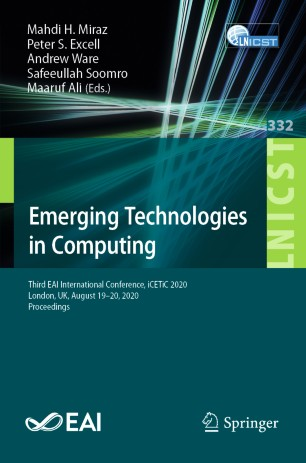 Emerging technologies in Computing, conference proceedings 2020