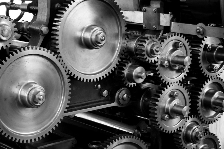 picture of gears and cogs